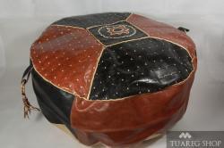 Kožený povlak na sedák Tit